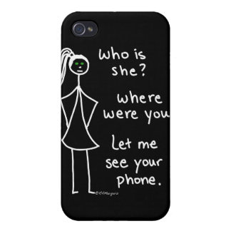 Jealous Girl Cases For iPhone 4