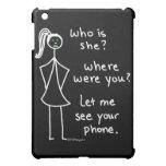 Jealous Girl iPad Mini Cover