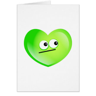 Jealous Heart Greeting Card