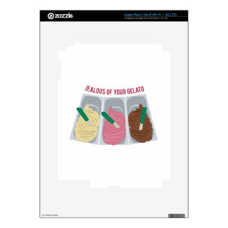 Jealous Of Your Gelato Skin For iPad 3