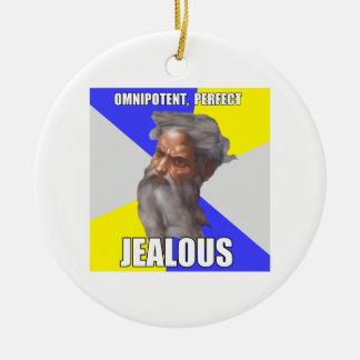 Jealous Troll God Ornaments
