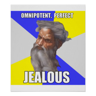 Jealous Troll God Posters