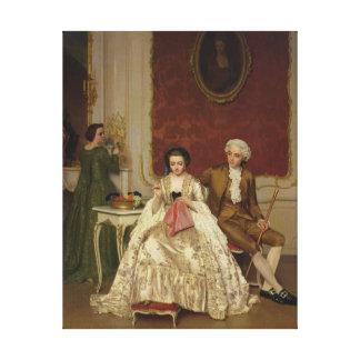 Jealousy, 1861 canvas print
