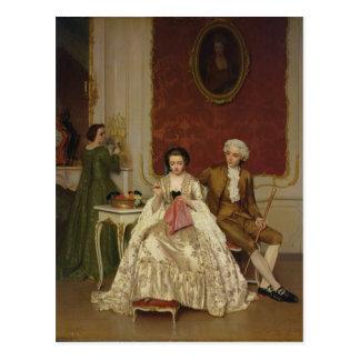 Jealousy, 1861 postcard