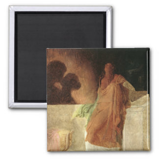 Jealousy 2 Inch Square Magnet