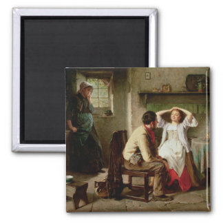 Jealousy and Flirtation 2 Inch Square Magnet