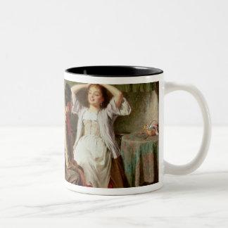 Jealousy and Flirtation Two-Tone Coffee Mug
