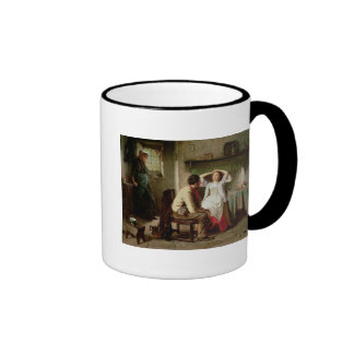 Jealousy and Flirtation Ringer Coffee Mug