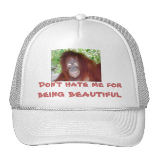 Jealousy: beautiful redhead trucker hat