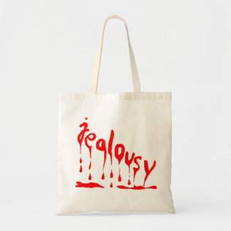 Jealousy (jealousy) tote bag