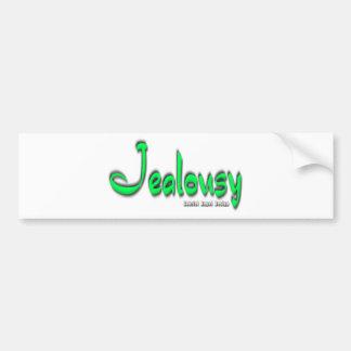 Jealousy Logo Bumper Sticker