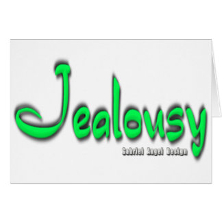 Jealousy Logo Card