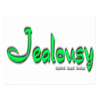Jealousy Logo Postcard