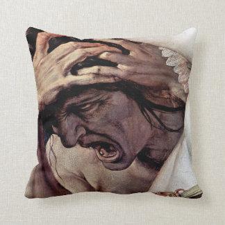 Jealousy Throw Pillows