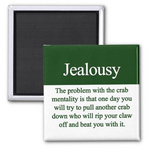 Jealousy Refrigerator Magnets