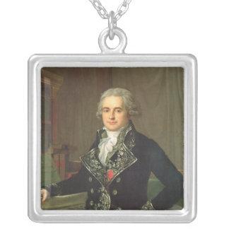 Jean Antoine Chaptal  Comte de Chanteloupe Silver Plated Necklace