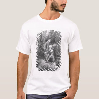 Jean Antoine Watteau and friend Monsieur T-Shirt