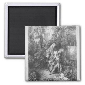 Jean Antoine Watteau y Monsieur del amigo Iman De Nevera