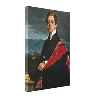 Jean Auguste Dominique Ingres - Count Guryev Stretched Canvas Print