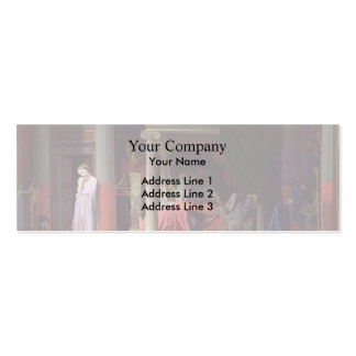 Jean Auguste Ingres- Antiochus and Stratonice Business Card