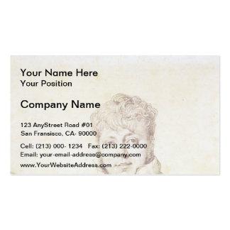 Jean Auguste Ingres- Auguste-Jean-Marie Guénepin Business Cards