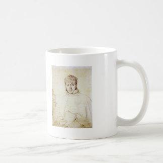 Jean Auguste Ingres- Auguste-Jean-Marie Guénepin Coffee Mugs
