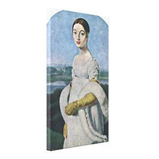 Jean Auguste Ingres - Mademoiselle Riviere Gallery Wrap Canvas