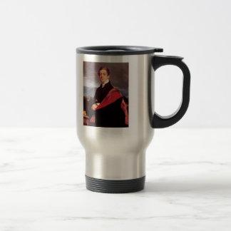 Jean Auguste Ingres- Portrait of Nikolay Gouriev Coffee Mug