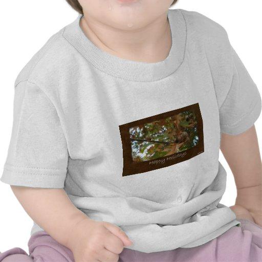 Jean Autumn Leaves 11 Happy Holidays Tee Shirts