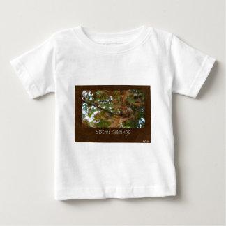 Jean Autumn Leaves 11 Seasons Greetings Baby T-Shirt