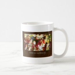 Jean Autumn Leaves 12 Seasons Greetings Coffee Mug
