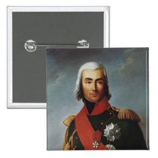 Jean-Baptiste Bessieres  Duke of Istria 2 Inch Square Button