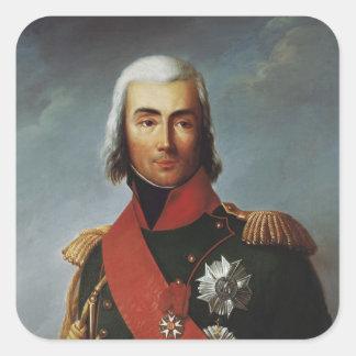 Jean-Baptiste Bessieres  Duke of Istria Square Sticker