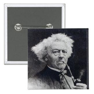 Jean-Baptiste Camille Corot 2 Inch Square Button