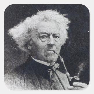 Jean-Baptiste Camille Corot Square Sticker