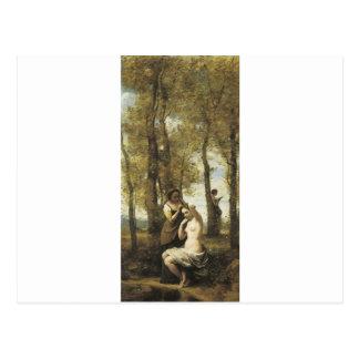 Jean-Baptiste-Camilo Corot el Toilette Postales