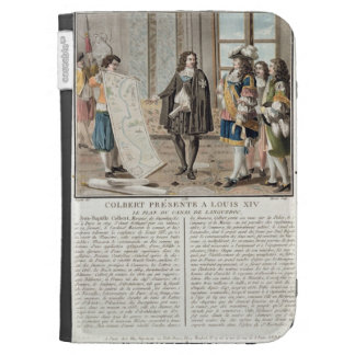 Jean Baptiste Colbert (1619-83) presenta el mapa o