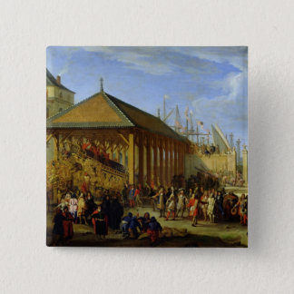 Jean-Baptiste Colbert  Marquis de Seignelay Button