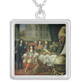 Jean-Baptiste Colbert  Presenting Royal Silver Plated Necklace