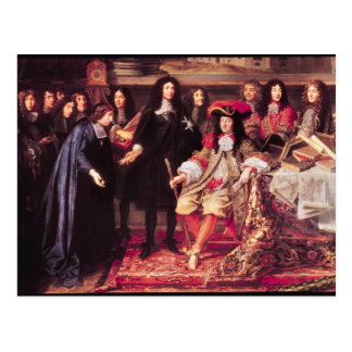 Jean-Baptiste Colbert  Presenting the Members Post Cards