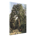 Jean-Baptiste Corot - Forest at Ville dAvray Canvas Prints