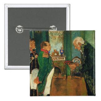 Jean-Baptiste de Lamarck 2 Inch Square Button