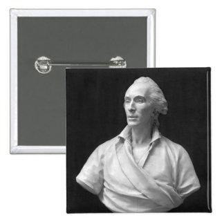 Jean-Baptiste de Piquet  Marquis de Mejanes 2 Inch Square Button