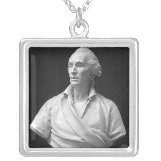 Jean-Baptiste de Piquet  Marquis de Mejanes Square Pendant Necklace