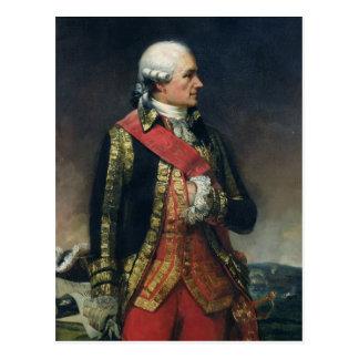Jean-Baptiste de Vimeur Count de Rochambeau Tarjetas Postales