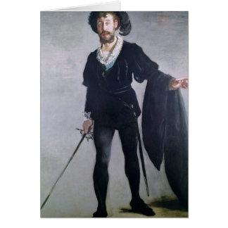 Jean Baptiste Faure  as Hamlet, 1877 Card