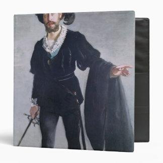 """Jean Baptiste Faure como Hamlet, 1877 Carpeta 1 1/2"""""""