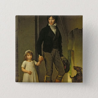 Jean-Baptiste Isabey  and his Daughter Button