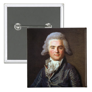 Jean-Baptiste-Jacques Augustin (1759-1832) French 2 Inch Square Button