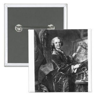 Jean Baptiste Masse 2 Inch Square Button